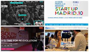 Las citas más inminentes en Madrid para emprendedores y gente de negocios
