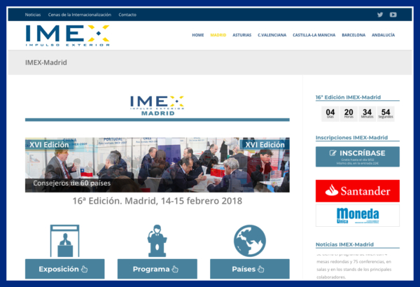 IMEX-Madrid, parada obligada para pymes