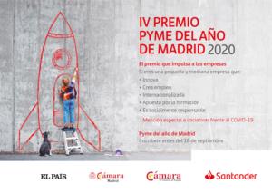 La Cámara de Comercio busca la Pyme del año 2020 de Madrid